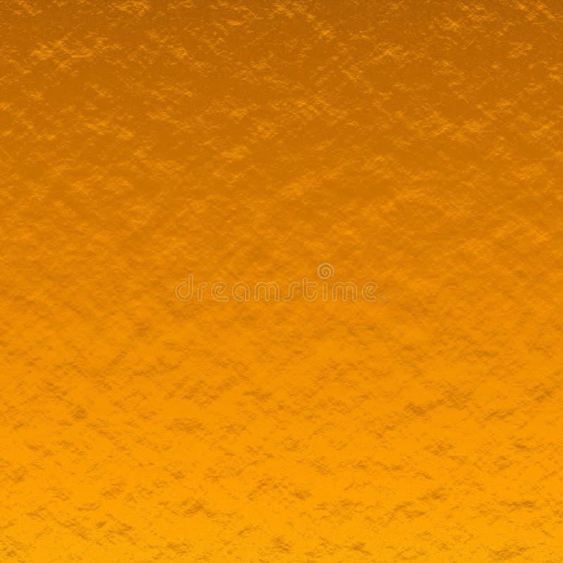 Złocistej bryłki tekstura Gęsta powierzchnia Z?ota foliowa tekstura Abstrakta papier obraz royalty free