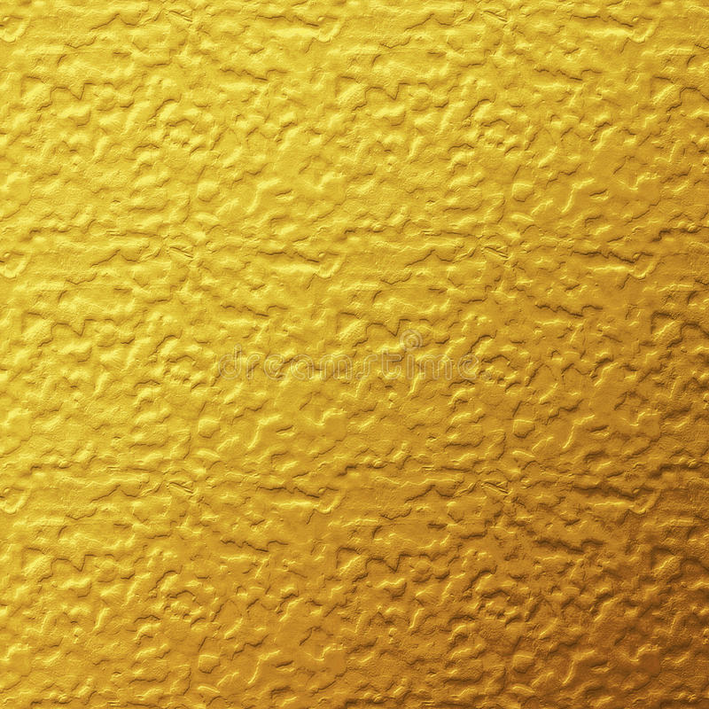 Złocistej folii tekstury tło obraz stock