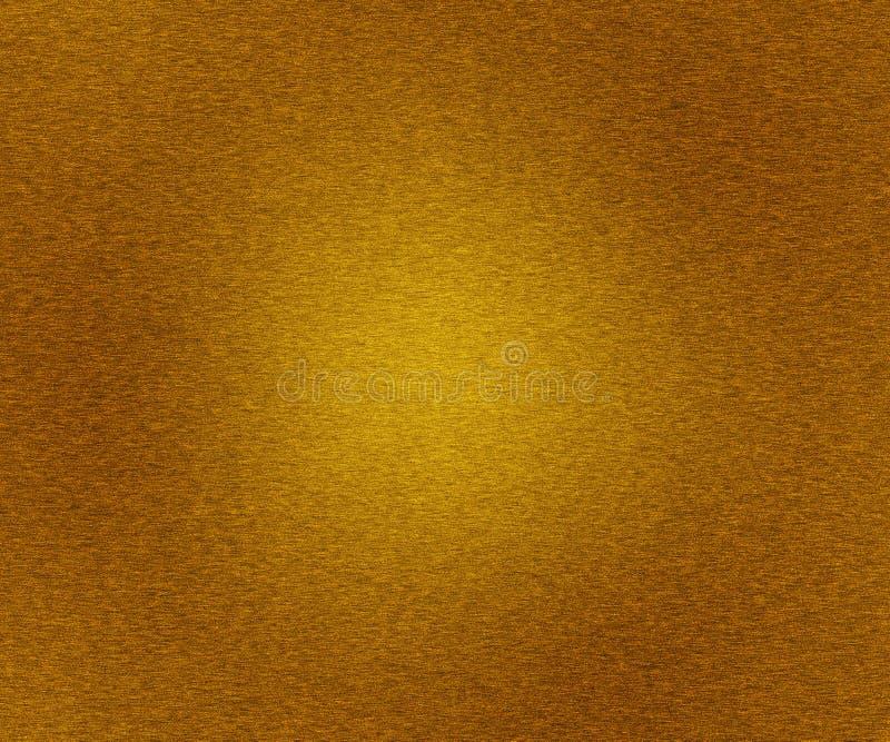 Złocistej Kruszcowej tekstury Oczyszczony metal fotografia royalty free