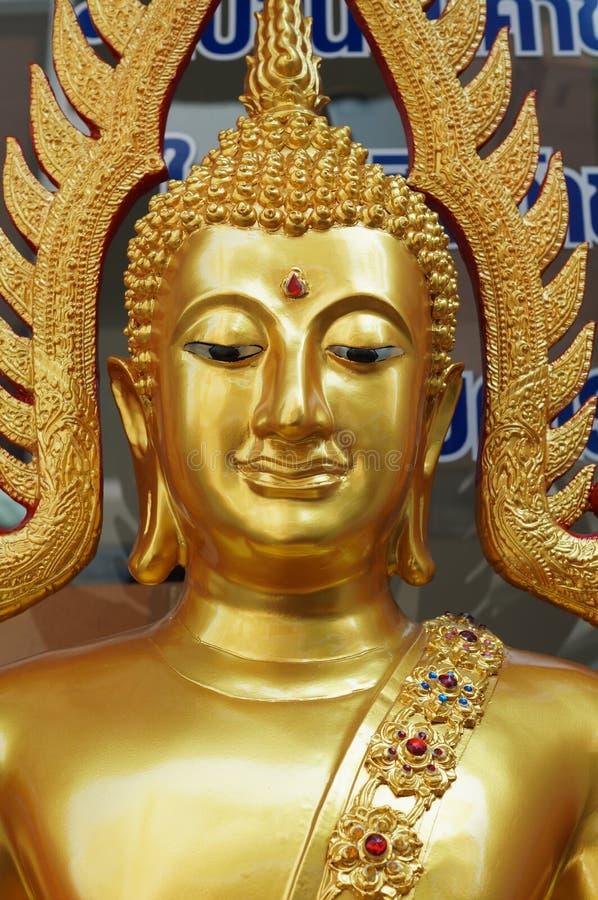 Złocisty Buddha obraz royalty free