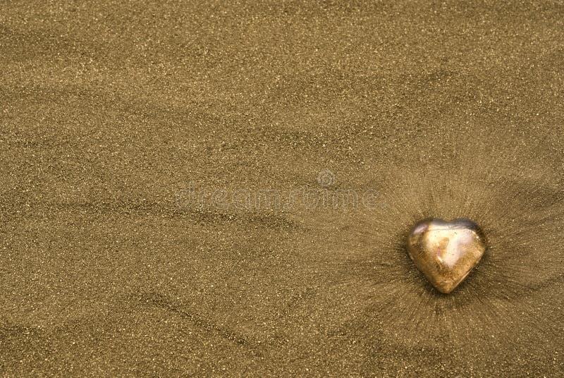 złocisty kierowy piasek obrazy stock
