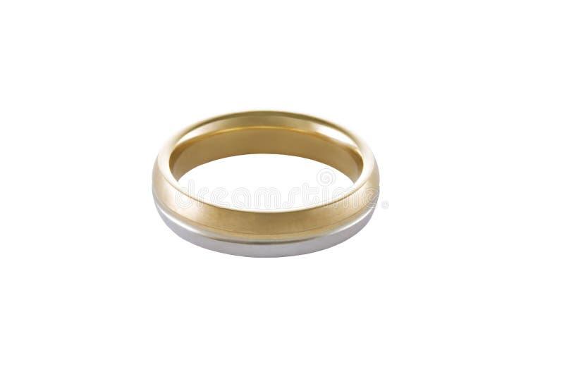 Złocisty pierścionek zdjęcie royalty free