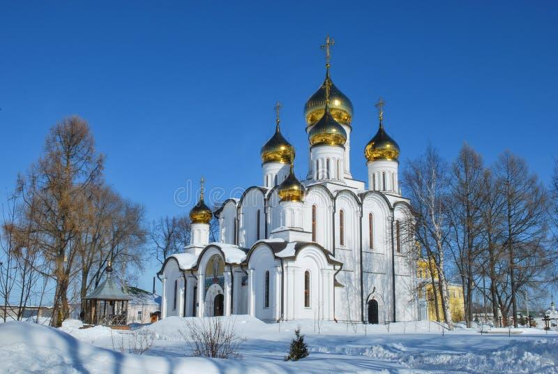 złocisty pierścionek Russia Pereslavl Zalessky fotografia stock