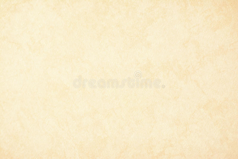 Złocisty tekstury tła papier w żółtej rocznik śmietance lub beżowym kolorze, pergaminowy papier, abstrakcjonistyczny pastelowy zł zdjęcia stock