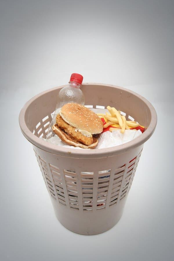 złom żywności zdjęcie stock