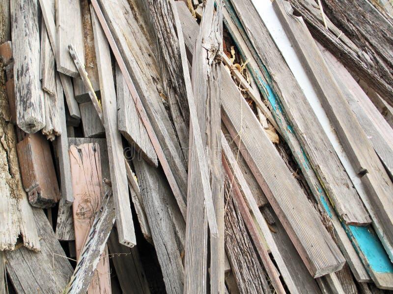 Złomowy drewno obrazy stock