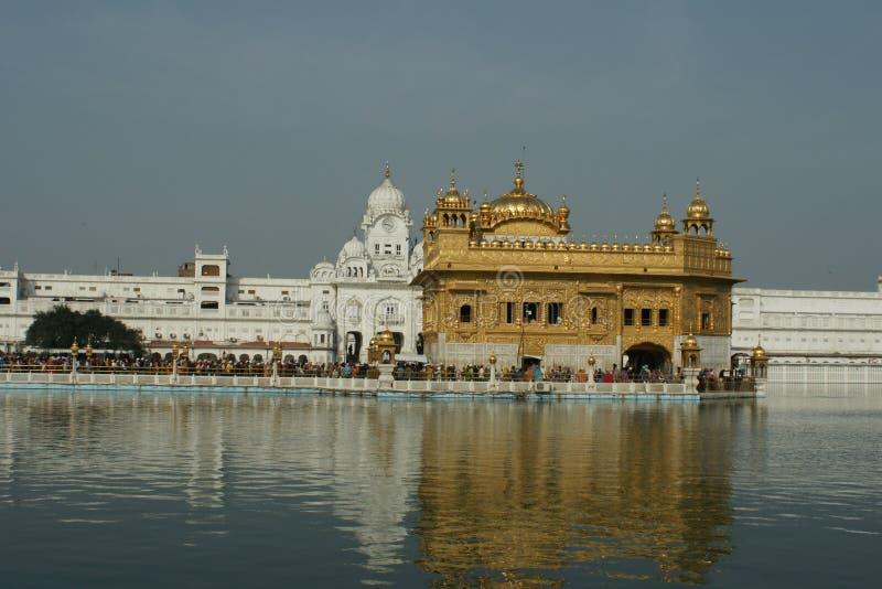 Złota świątynia przy Amritsar zdjęcie stock
