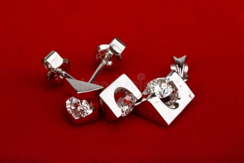 złota 18k biżuterii obrazy stock