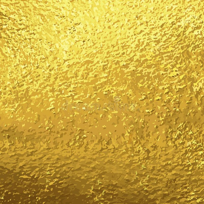 Złota folia królewska ilustracja wektor
