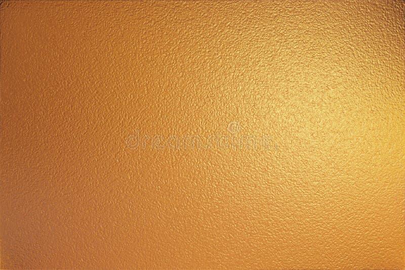 złota foliowa struktura metalowa zdjęcia stock