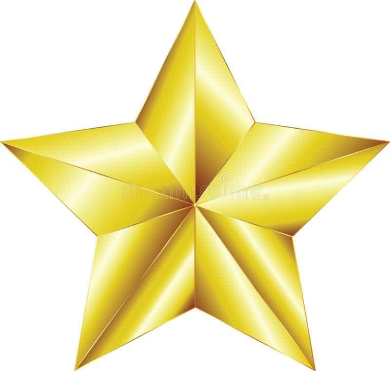 złota gwiazda fotografia stock