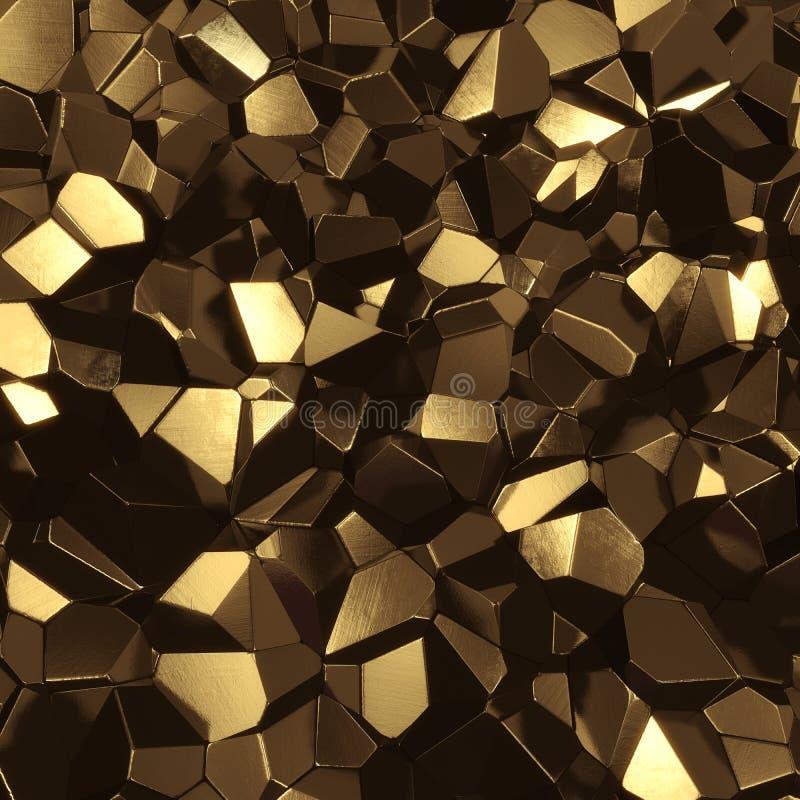 złota mineralne zdjęcie royalty free