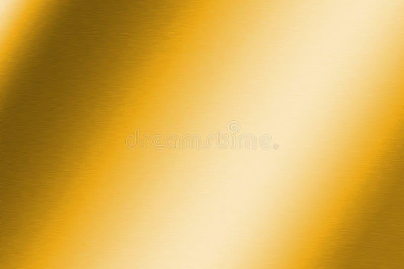złota oczyszczona konsystencja royalty ilustracja