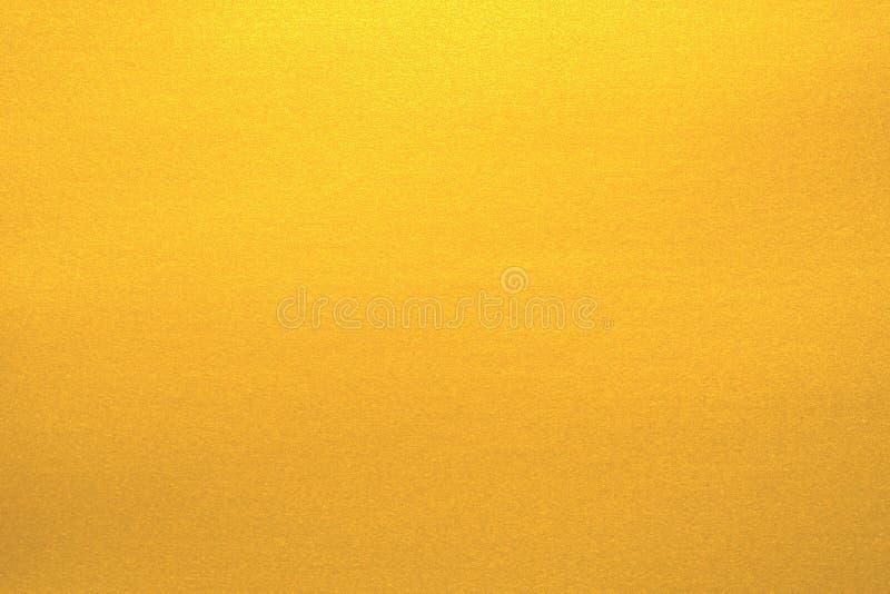 Złota papierowa tekstura dla tła obraz royalty free