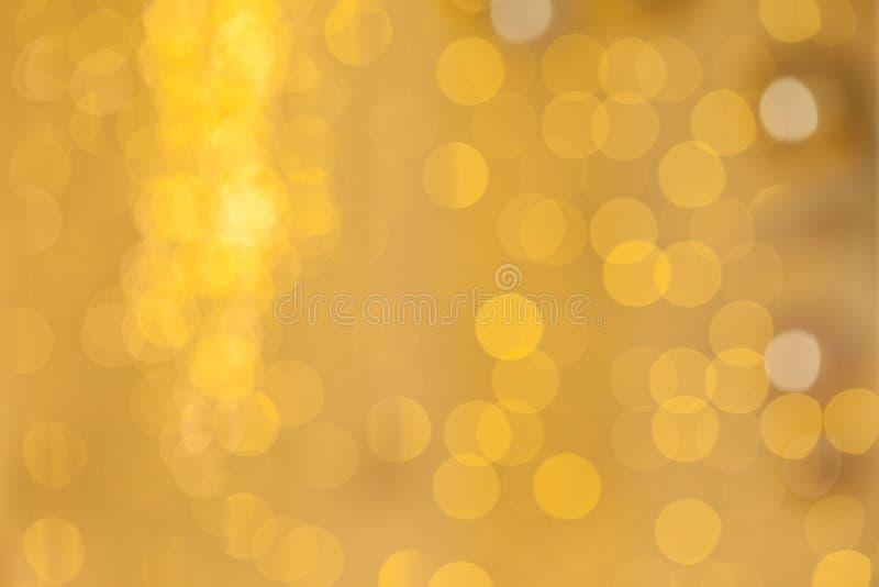 Złota powierzchnia połysku odbija światło tła zdjęcia stock