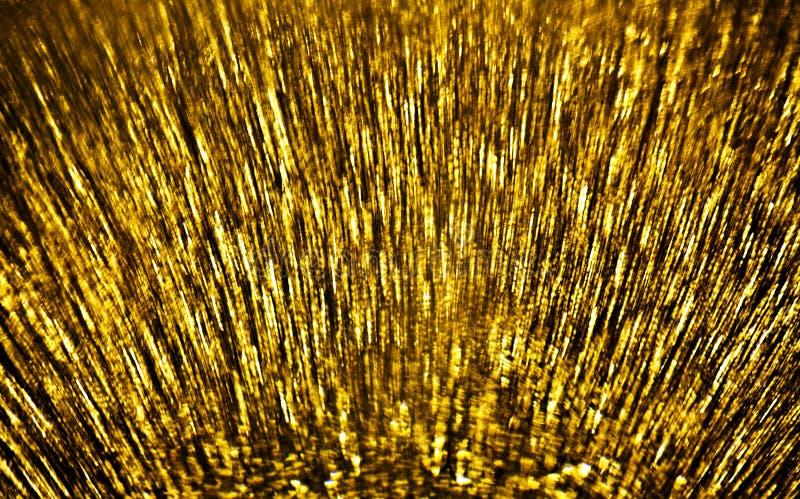 Złota ruch plama zdjęcia stock