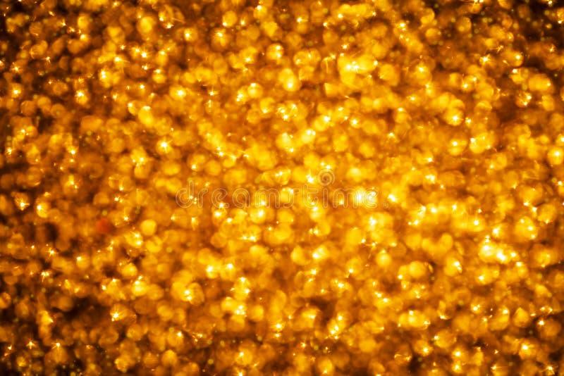 złota tło błyskotliwość Boże Narodzenia, nowy rok, partyjny temat fotografia royalty free