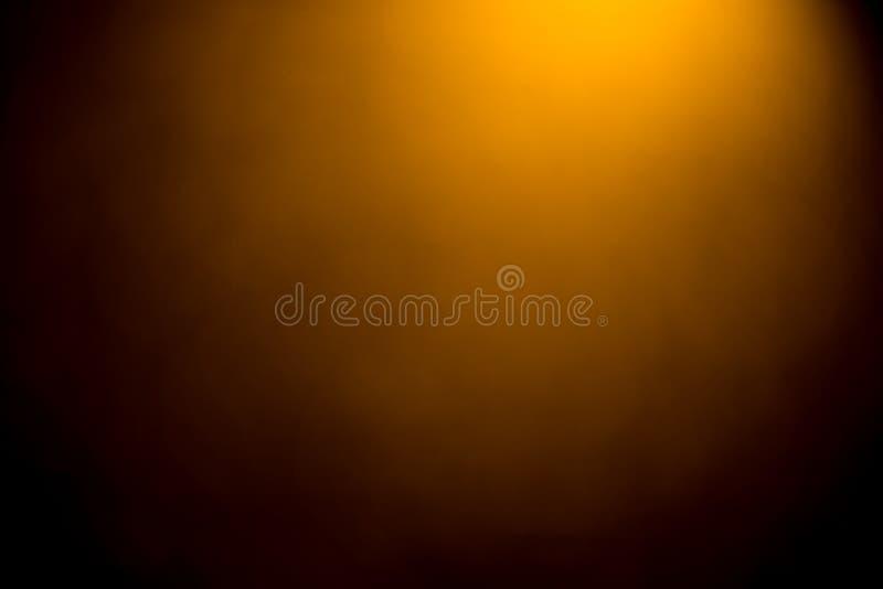 Złotego bokeh mistical abstrakcjonistyczny tło fotografia royalty free