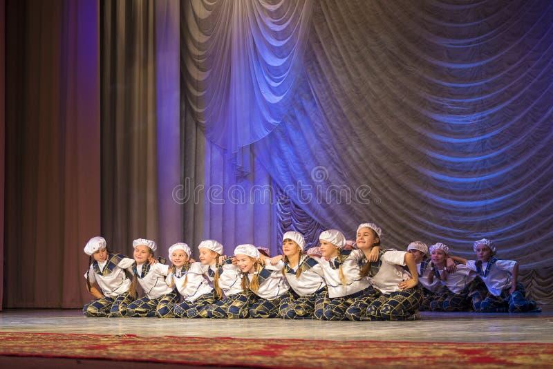 'Złotego Fenix' choreografii konkurs w Minsk fotografia stock