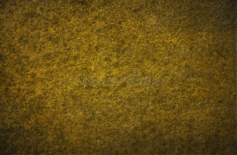 Złotej stiuk ściany szczegółu grunge wzoru powierzchni tekstury abstrakcjonistyczny tło zdjęcia royalty free
