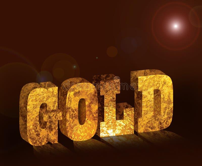 złoto ilustracja wektor