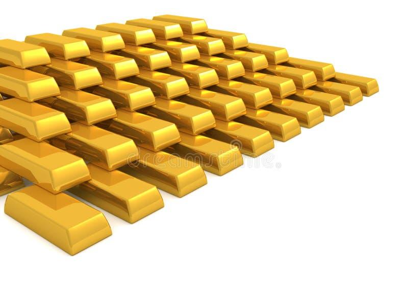 złoto. royalty ilustracja