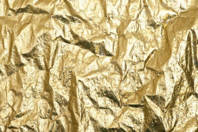 Złoto folia obrazy stock