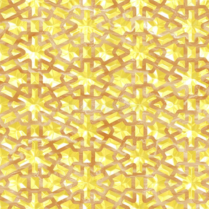 Złoto i marmur ilustracji