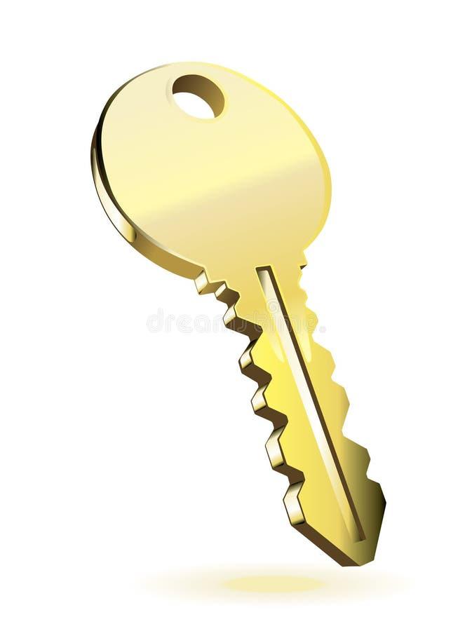 złoto klucz ilustracji