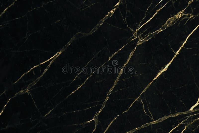 Złoto marmurowa tekstura z naturalnym wzorem dla tła lub projekta sztuki pracy zdjęcia stock