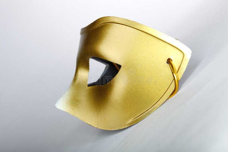Złoto maska obrazy royalty free
