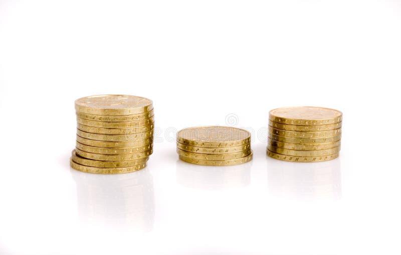 złoto monet fotografia royalty free