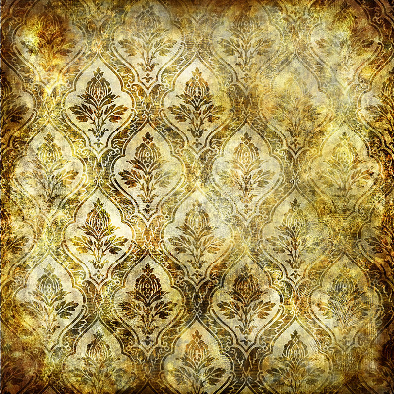 złoto podławy ilustracja wektor