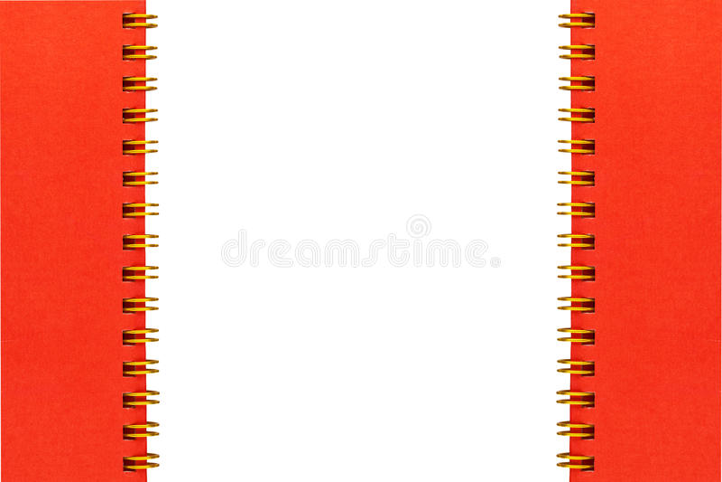 Download Złoto Spirali Pierścionku Obszyty Calander Obraz Stock - Obraz złożonej z 1, target158: 53782371