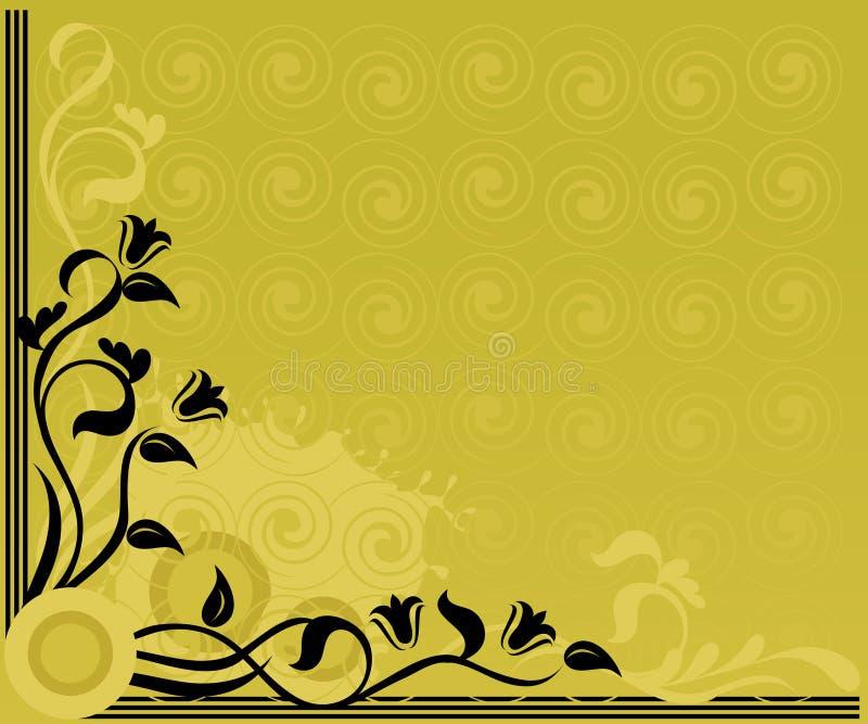 złoto tła światła ilustracja wektor