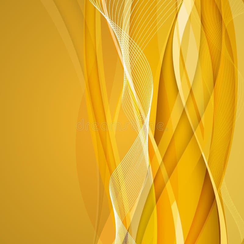 złoto tła abstrakcyjne również zwrócić corel ilustracji wektora royalty ilustracja