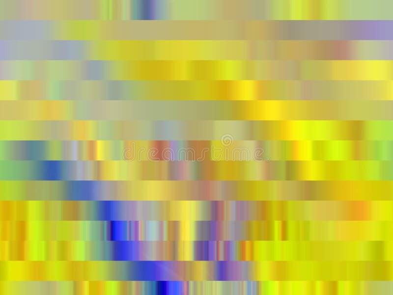 Złoty błękitny lśnienie wykłada geometrii tło, grafika, abstrakcjonistycznego tło i teksturę, royalty ilustracja