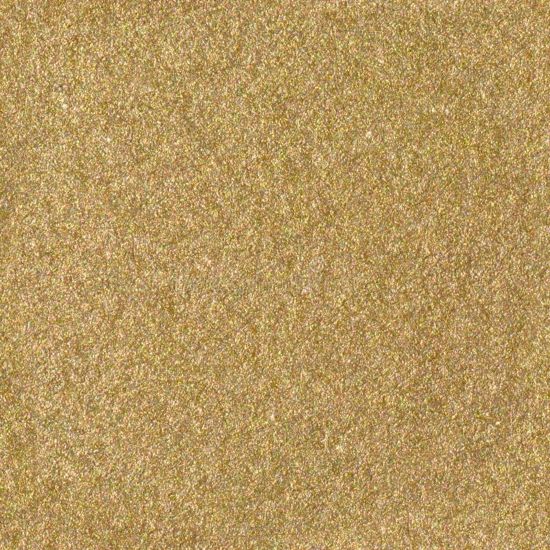 Złoty błyskotliwości tekstury bożych narodzeń tło bezszwowa kwadratowa tekstura obrazy stock