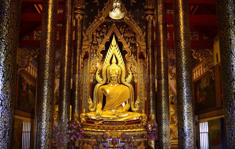Złoty Buddha obraz royalty free