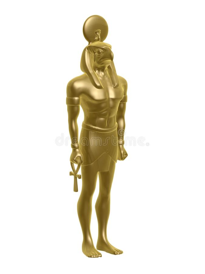 złoty horus royalty ilustracja