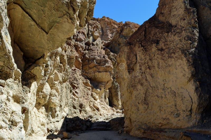 Złoty jar, Śmiertelny Dolinny park narodowy, Kalifornia, usa zdjęcia stock
