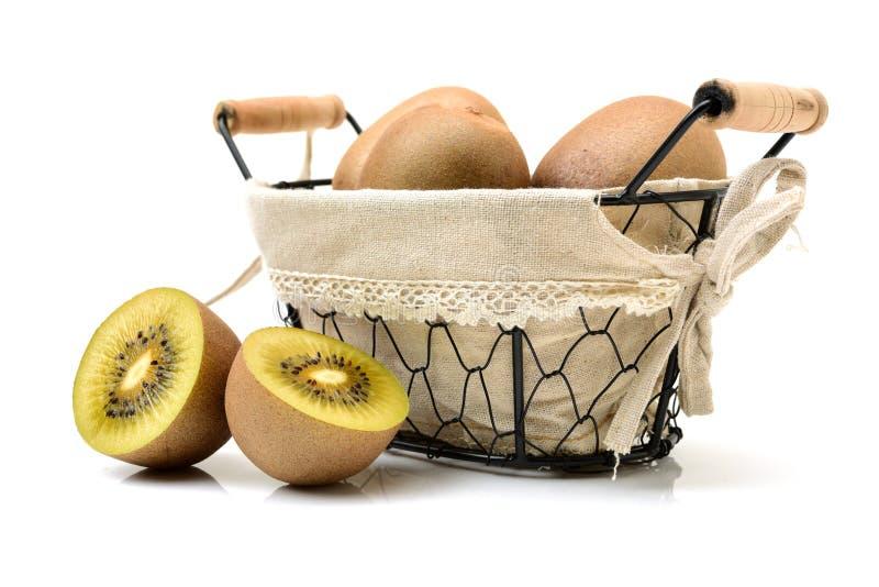 Złoty kiwifruit/kiwi fotografia stock