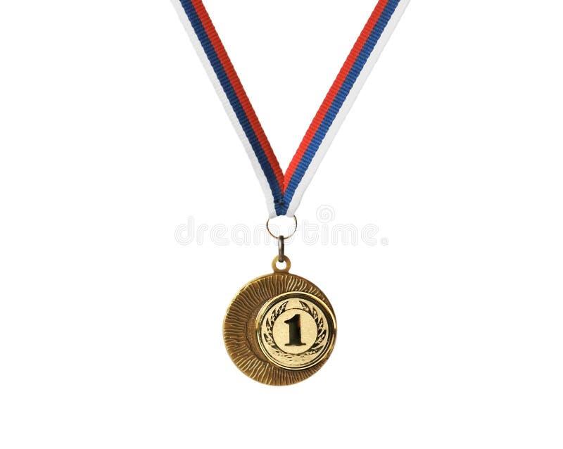 złoty medal zdjęcie royalty free