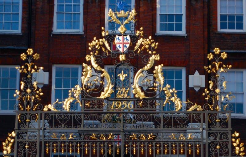 złoty płotu zdjęcie royalty free