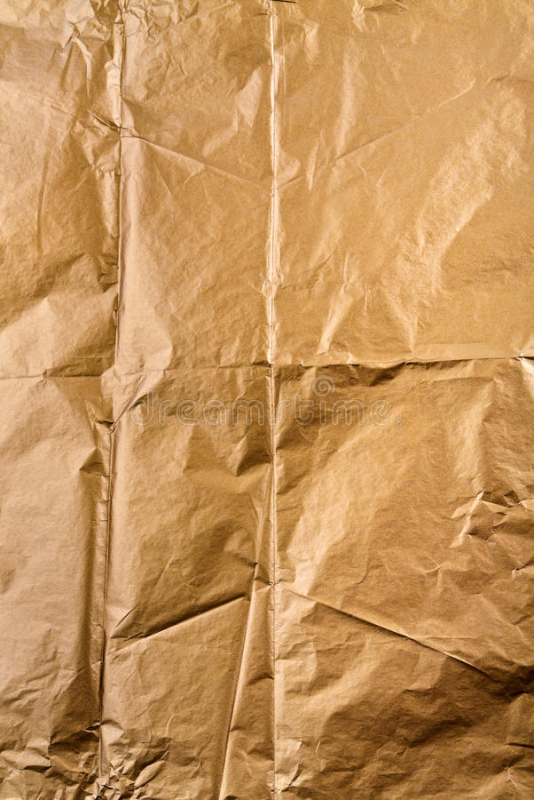 Złoty papierowy tekstury tło zdjęcie royalty free