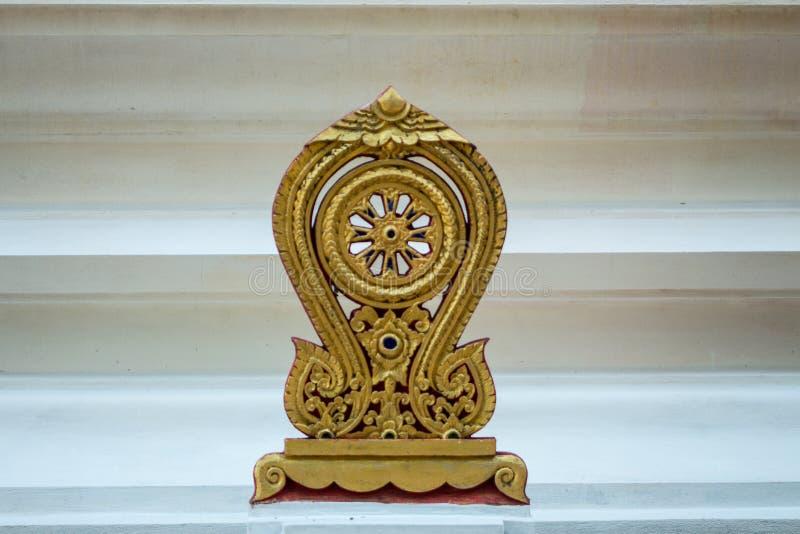 Złoty parapet fotografia royalty free