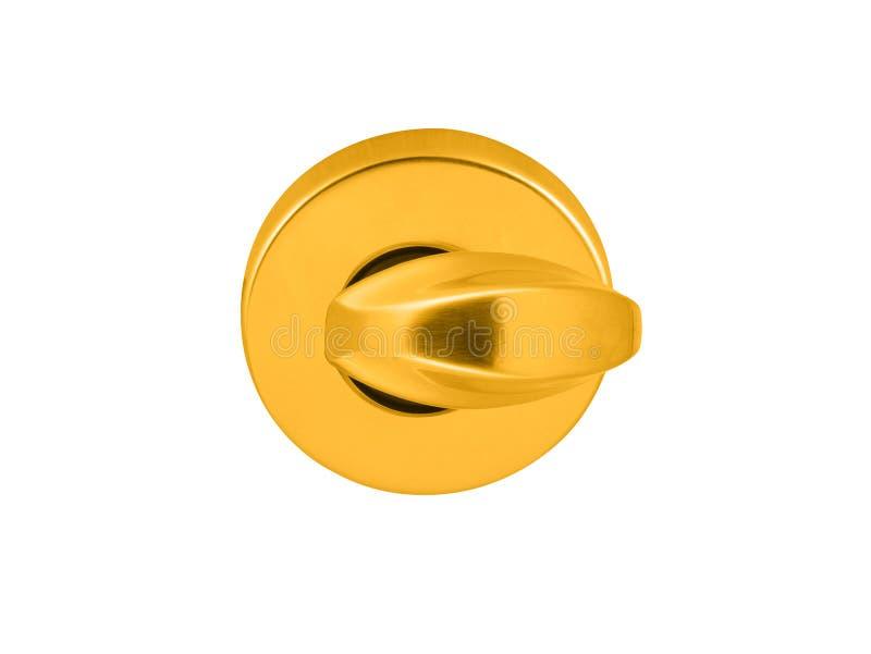 Złoty prysznic wody Switcher obraz stock