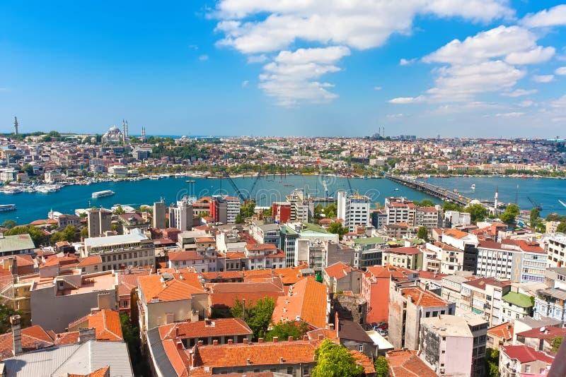 Złoty róg w Istanbuł obrazy stock