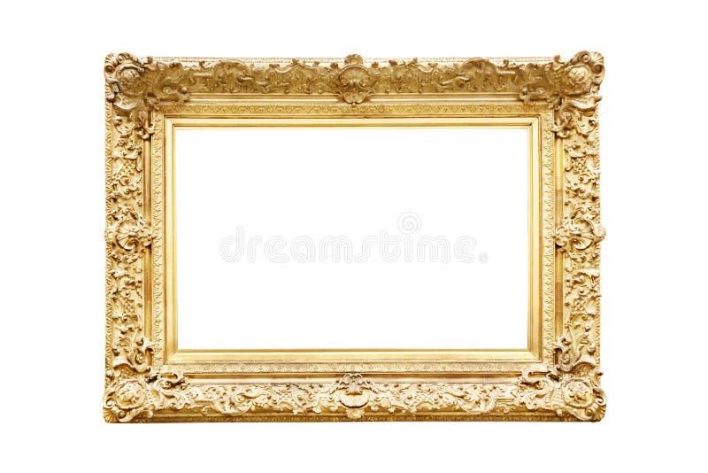 złoty ramowy zdjęcie stock