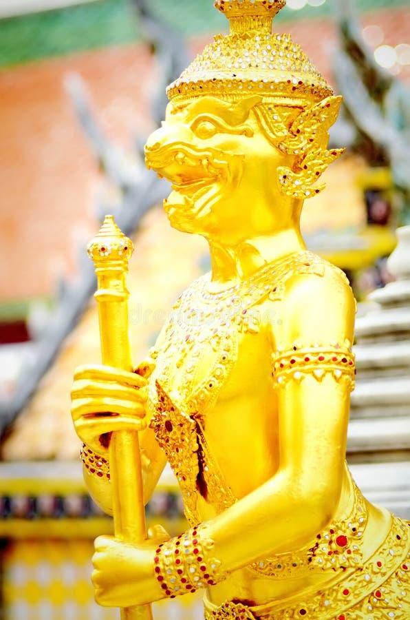 Złoty Scultrure obrazy royalty free